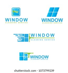 window cleaning service, logo design collections