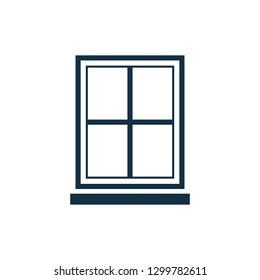 Window Vector Icon Flat design