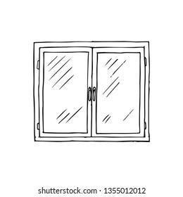 window vector sketch