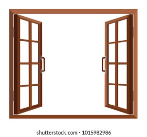 windows open to see outside