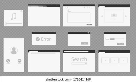Windows programs in various versions. The concept of reference information, search on web pages, copying, startup errors, playing media and video files.