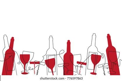 Wine Banner Images Stock Photos Vectors Shutterstock