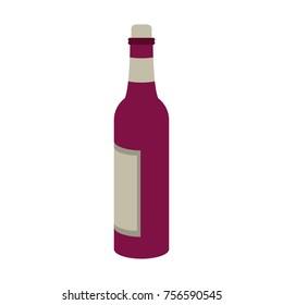 Wine bottle drink
