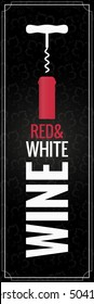 Wine Bottle Logo Background