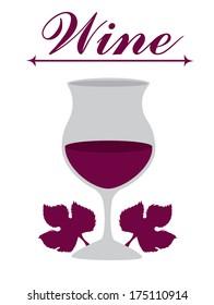 wine design over white background vector illustration