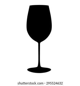 Wine Glass, Silhouette
