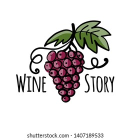 Wine label for your design