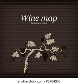 Wine map design