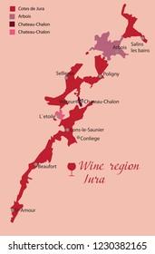 wine region jura
