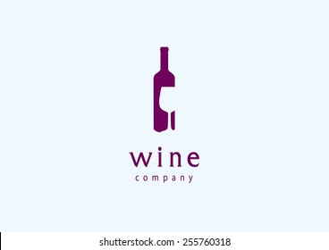 Wine Vector Logo