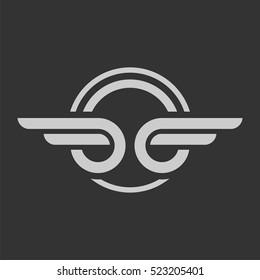 Wing of Automotive Emblem Logo Template Illustration Design. Vector EPS 10.