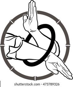Wing Chun Kung fu ring