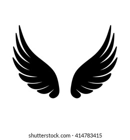 Wing Icon. Vector