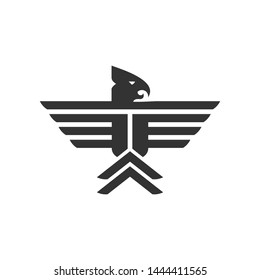 wing and a phoneix logo template