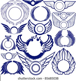 Wing Ring Collection