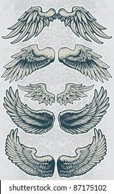 Wing Set 1