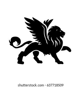 Winged Lion Images Stock Photos Vectors Shutterstock Four illustrations of a skinny old lion. https www shutterstock com image vector winged lion vector illustration logo icon 637718509