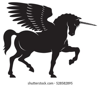Winged Unicorn Images, Stock Photos & Vectors | Shutterstock