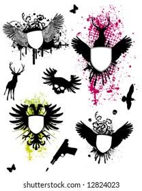 Wings Coat of Arms