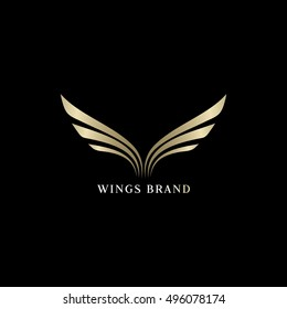 Wings Logo Images Stock Photos Vectors Shutterstock