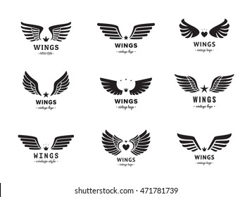 Vintage Angel Wings Images Stock Photos Vectors