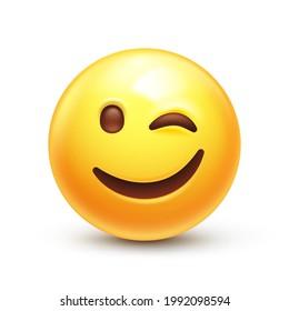 Smiley zwinker whatsapp