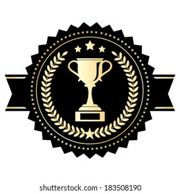 Winner cup emblem