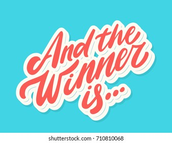 And the winner is... Lettering.