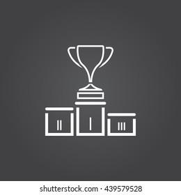 Winners Podium Icon