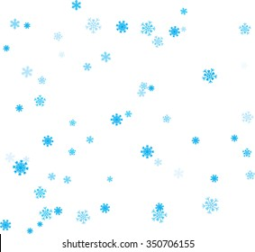 winter background, a white background with blue snowflakes