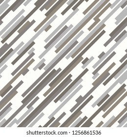 Winter camouflage. Seamlessly repeating pattern. Modern urban digital style for clothing, fabric or accessories. Diagonal stripes create uniform masking texture. Abstract background for winter design.
