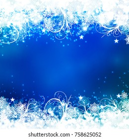 winter christmas background. Vector