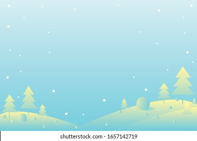Winter concept on Christmas. Background