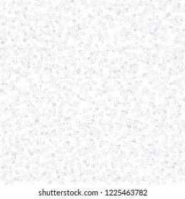 Winter decoration. Wallpaper texture. Tile. White flecked background. Vector illustration.