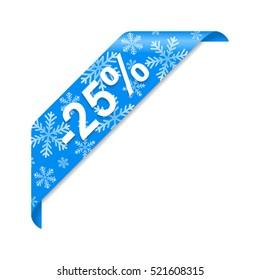 Winter discount 25%
