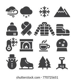 Winter Icons [Black Edition]
