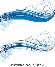 winter musical banner