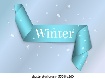Winter Ribbon.