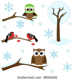 owl tree images stock photos vectors shutterstock rh shutterstock com owl in a tree clipart owl family tree clipart