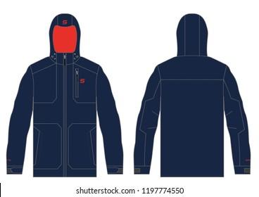Winter Ski Outerwear Jacket