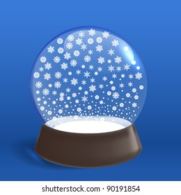 Winter snowfall ia winter ball