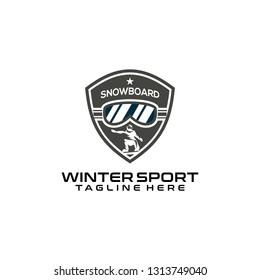 Winter Sport Logo Design