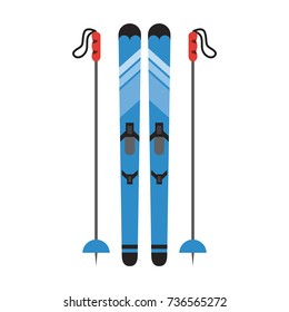 winter sports related icon image