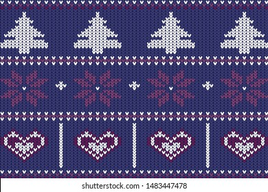 The winter sweater for christmas holiday.