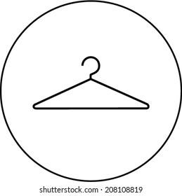 wire clothes hanger symbol