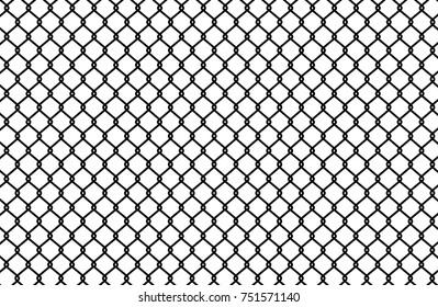 Wire mesh steel metal. Vector illustration.