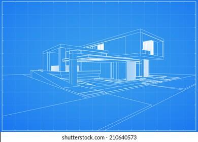 Maison Moderne Extérieur Stock Vectors Images Vector Art