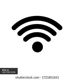 Wireles signal. Icon. Wifi. Vector illustration.