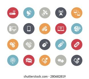 Wireless Communications Icons // Classics Series