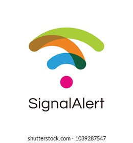 wireless icon and wifi logo. isolated vector radio wave symbol